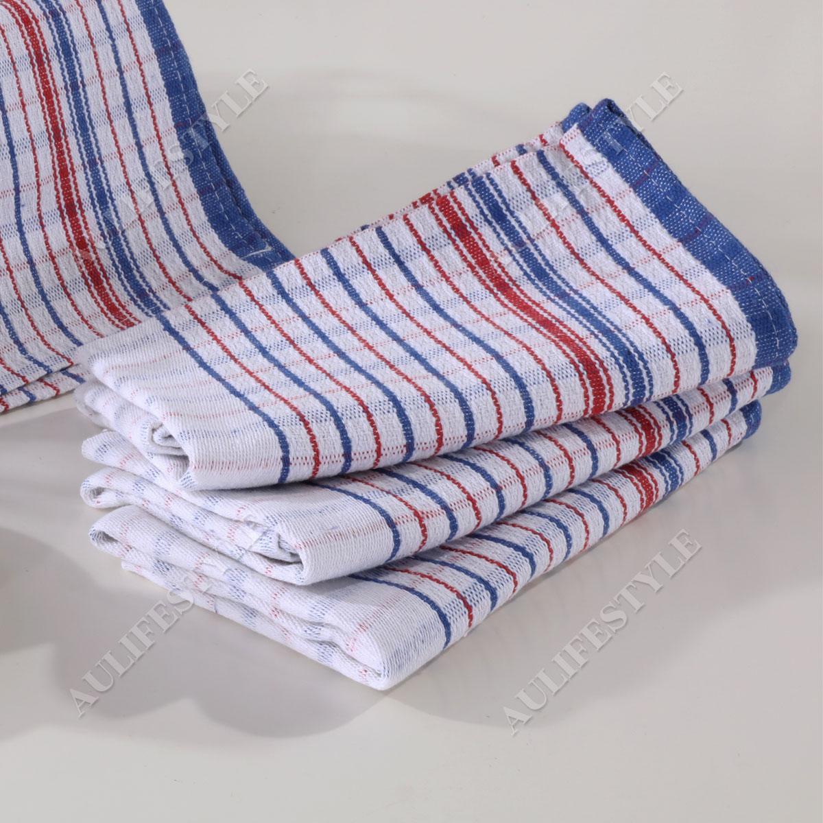 10x commercial grade vintage tea towels heavy duty 100. Black Bedroom Furniture Sets. Home Design Ideas